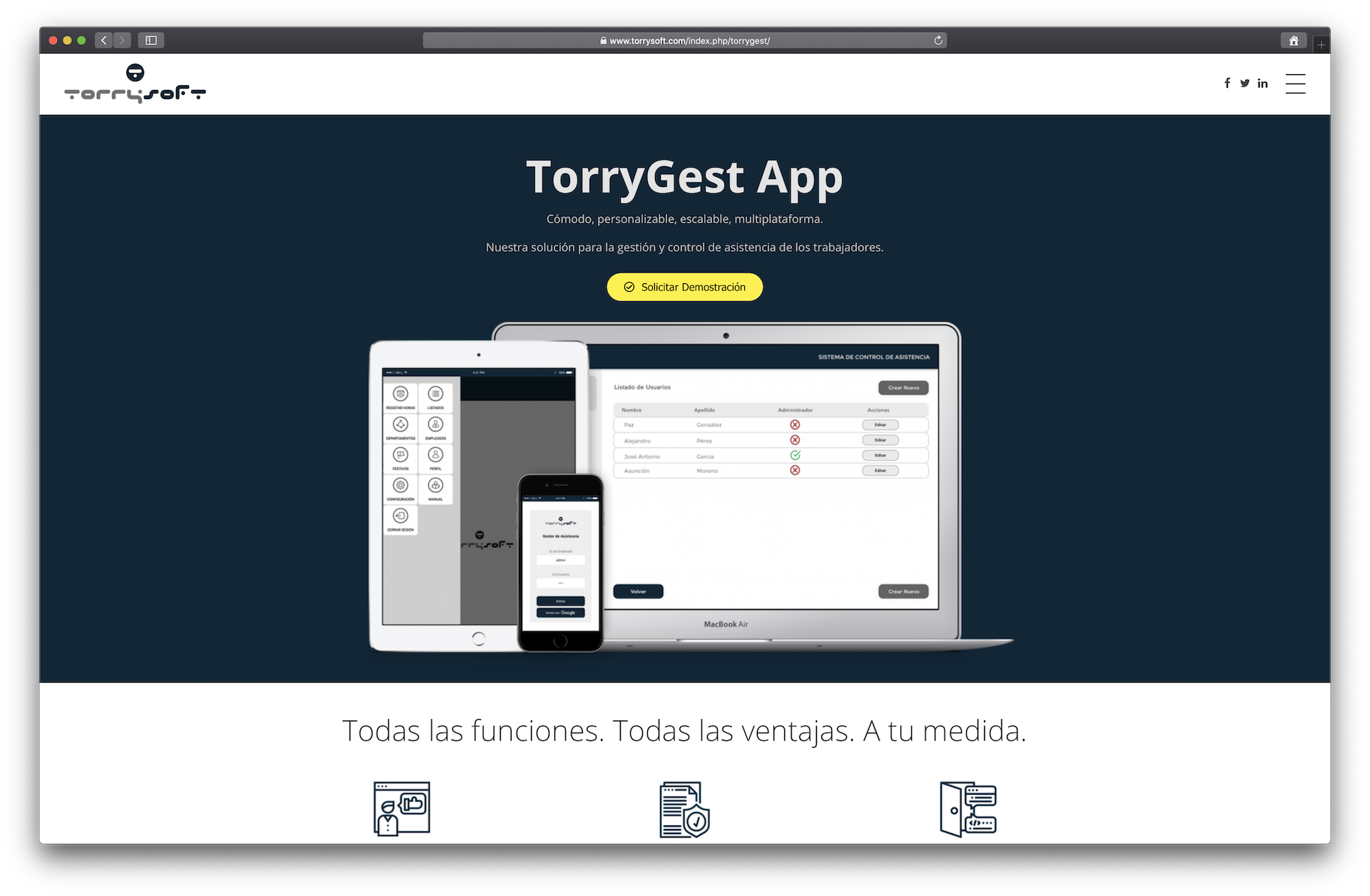 Producto: TorryGest